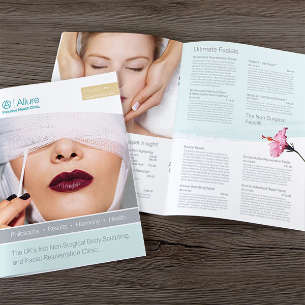 Allure Clinic Treatment Brochure