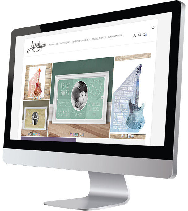 Artetype Responsive Website Design by Damian Edwards, Freelance Graphic Designer