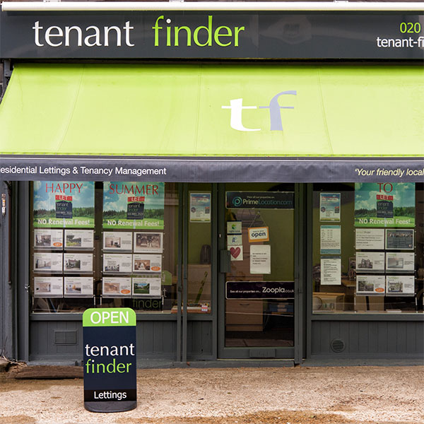 Tenant Finder, Twickenham Shop Branding