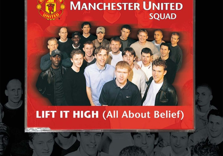 manchester utd cd single lift it high 1999