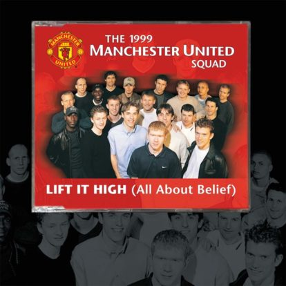 manchester utd cd single lift it high 1999