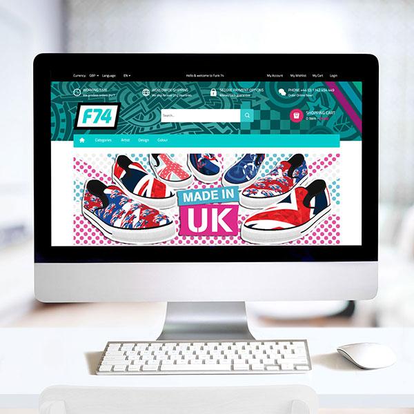 f74 Ecommerce Website