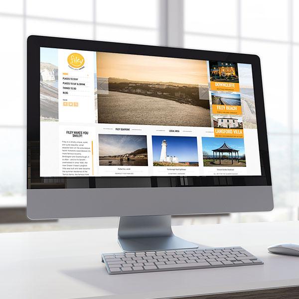 Filey Wordpress Homepage