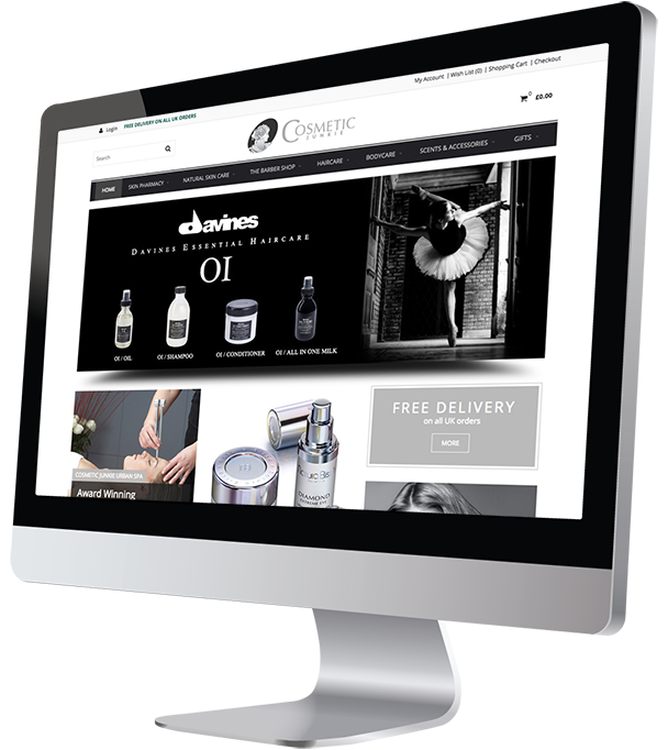 Cosmetic Junkie OpenCart Ecommerce Website