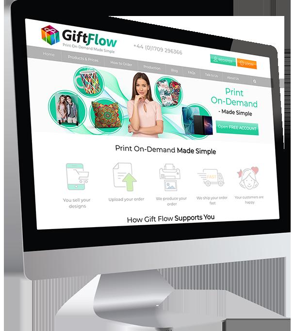 Gift Flow Wordpress Website