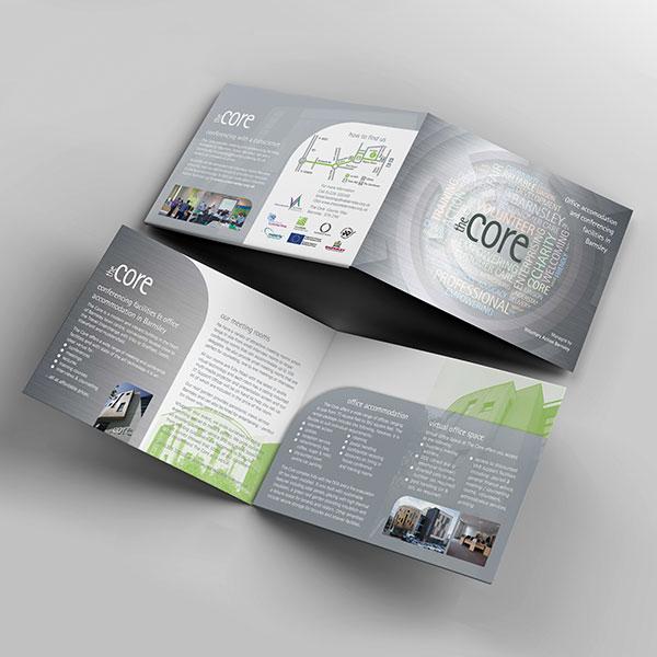 The Core, Barnsley - Folder Design