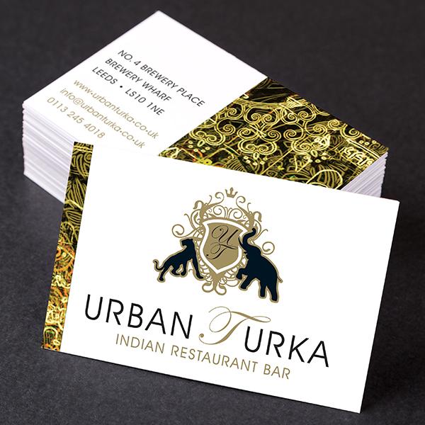 Urban Turka Business Cards
